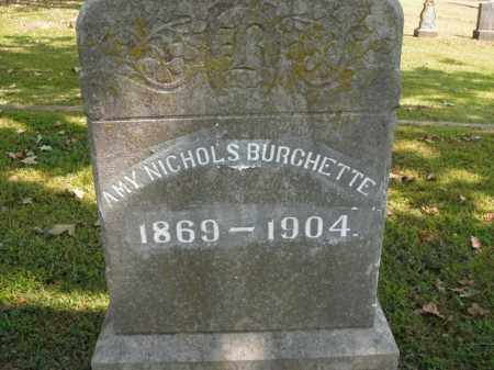 NICHOLS BURCHETTE, AMY - Boone County, Arkansas | AMY NICHOLS BURCHETTE - Arkansas Gravestone Photos