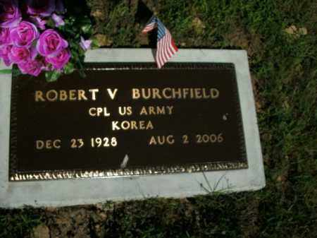 BURCHFIELD (VETERAN KOR), ROBERT V. - Boone County, Arkansas | ROBERT V. BURCHFIELD (VETERAN KOR) - Arkansas Gravestone Photos