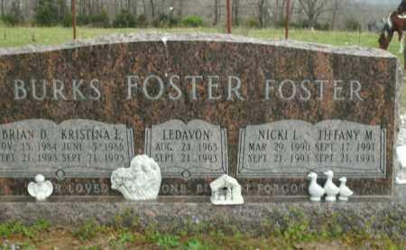 FOSTER, LEDAVON - Boone County, Arkansas | LEDAVON FOSTER - Arkansas Gravestone Photos