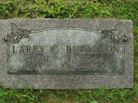 BURLESON, LARRY C. - Boone County, Arkansas | LARRY C. BURLESON - Arkansas Gravestone Photos