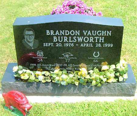 BURLSWORTH, BRANDON VAUGHN - Boone County, Arkansas   BRANDON VAUGHN BURLSWORTH - Arkansas Gravestone Photos