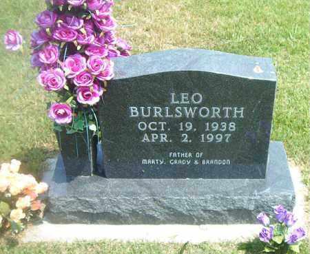 BURLSWORTH, LEO - Boone County, Arkansas | LEO BURLSWORTH - Arkansas Gravestone Photos