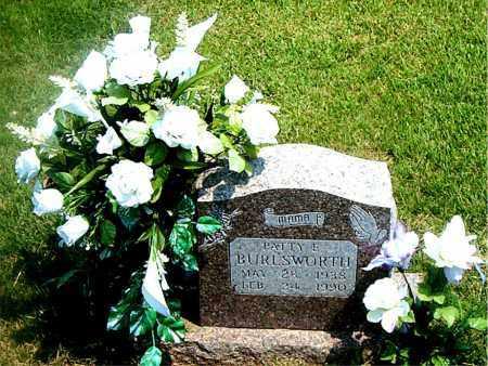BURLSWORTH, PATTIE  E. - Boone County, Arkansas | PATTIE  E. BURLSWORTH - Arkansas Gravestone Photos