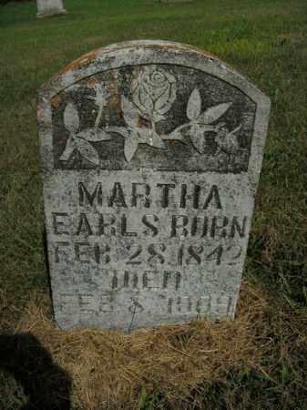 BURN, MARTHA - Boone County, Arkansas | MARTHA BURN - Arkansas Gravestone Photos