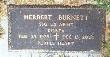 BURNETT  (VETERAN KOR), HERBERT - Boone County, Arkansas | HERBERT BURNETT  (VETERAN KOR) - Arkansas Gravestone Photos