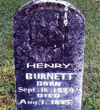 BURNETT  (VETERAN CSA), HENRY - Boone County, Arkansas | HENRY BURNETT  (VETERAN CSA) - Arkansas Gravestone Photos