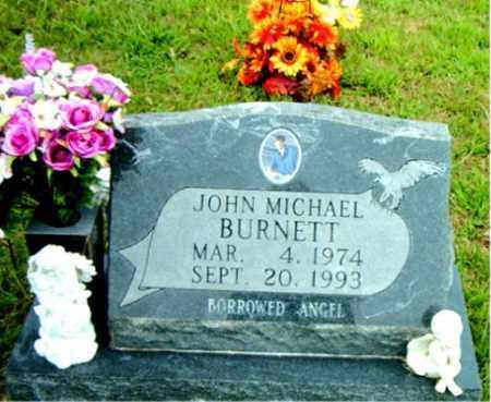 BURNETT, JOHN MICHAEL - Boone County, Arkansas | JOHN MICHAEL BURNETT - Arkansas Gravestone Photos
