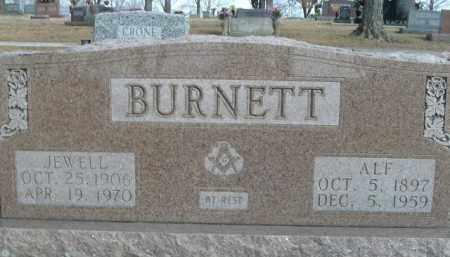 BURNETT, ALF - Boone County, Arkansas | ALF BURNETT - Arkansas Gravestone Photos