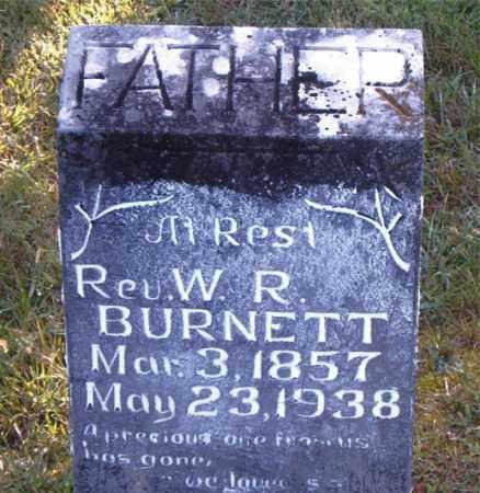 BURNETT, WILLIAM ROBERT  (BUCK) - Boone County, Arkansas | WILLIAM ROBERT  (BUCK) BURNETT - Arkansas Gravestone Photos