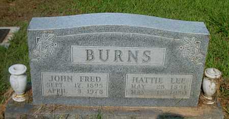 BURNS, HATTIE LEE - Boone County, Arkansas | HATTIE LEE BURNS - Arkansas Gravestone Photos