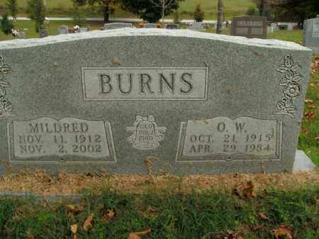 BURNS, MILDRED - Boone County, Arkansas | MILDRED BURNS - Arkansas Gravestone Photos