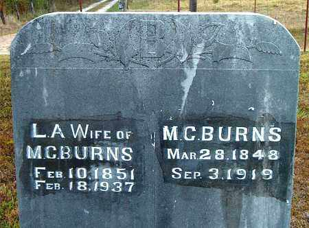 BURNS, MILES CHARLES - Boone County, Arkansas | MILES CHARLES BURNS - Arkansas Gravestone Photos