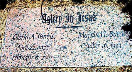 BURRIS, GLORIA  A. - Boone County, Arkansas   GLORIA  A. BURRIS - Arkansas Gravestone Photos
