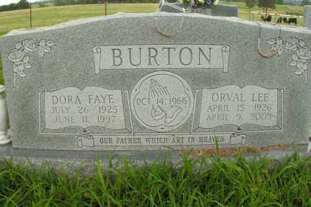 BURTON, ORVAL LEE - Boone County, Arkansas | ORVAL LEE BURTON - Arkansas Gravestone Photos