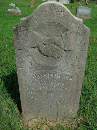 BURTON, JOSEPHINE - Boone County, Arkansas | JOSEPHINE BURTON - Arkansas Gravestone Photos