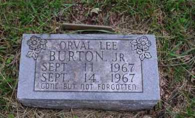 BURTON JR., ORVAL LEE - Boone County, Arkansas | ORVAL LEE BURTON JR. - Arkansas Gravestone Photos