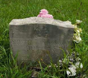 BUTLER, EDITH YVONNE - Boone County, Arkansas   EDITH YVONNE BUTLER - Arkansas Gravestone Photos