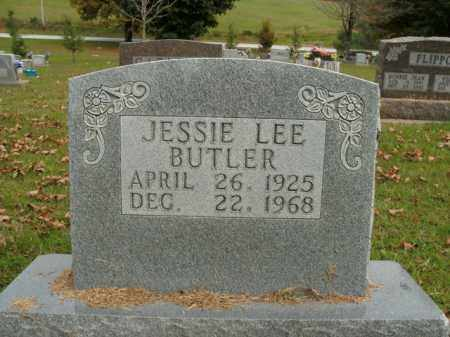 BUTLER, JESSIE LEE - Boone County, Arkansas   JESSIE LEE BUTLER - Arkansas Gravestone Photos