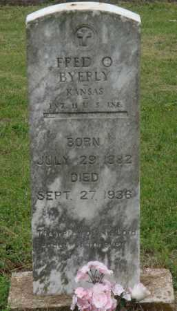 BYERLY  (VETERAN WWI), FRED O - Boone County, Arkansas | FRED O BYERLY  (VETERAN WWI) - Arkansas Gravestone Photos