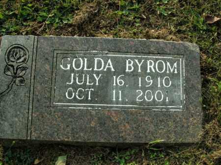 BYROM, GOLDA - Boone County, Arkansas   GOLDA BYROM - Arkansas Gravestone Photos