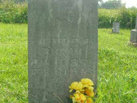 BYROM, MITTIE E. - Boone County, Arkansas | MITTIE E. BYROM - Arkansas Gravestone Photos