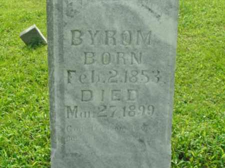 BYROM, THOMAS R. - Boone County, Arkansas | THOMAS R. BYROM - Arkansas Gravestone Photos