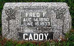 CADDY, FRED F. - Boone County, Arkansas | FRED F. CADDY - Arkansas Gravestone Photos