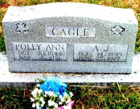 CAGLE, A.J. - Boone County, Arkansas | A.J. CAGLE - Arkansas Gravestone Photos