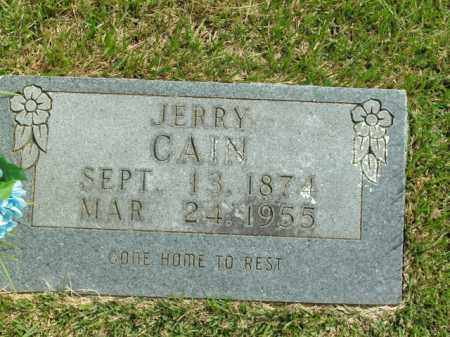 CAIN, JERRY - Boone County, Arkansas | JERRY CAIN - Arkansas Gravestone Photos