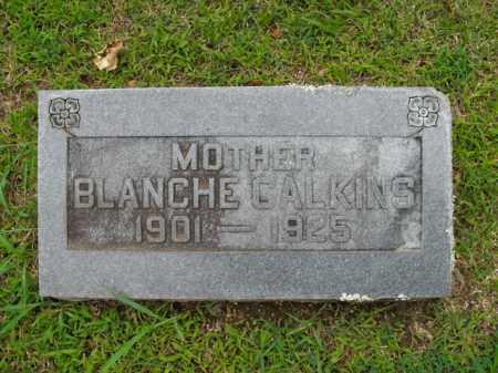 HILL CALKINS, BLANCHE - Boone County, Arkansas | BLANCHE HILL CALKINS - Arkansas Gravestone Photos