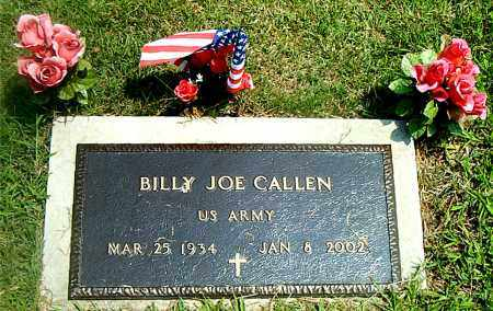 CALLEN  (VETERAN), BILLY JOE - Boone County, Arkansas | BILLY JOE CALLEN  (VETERAN) - Arkansas Gravestone Photos