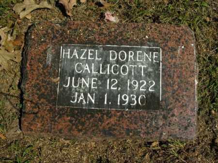 CALLICOTT, HAZEL DORENE - Boone County, Arkansas | HAZEL DORENE CALLICOTT - Arkansas Gravestone Photos