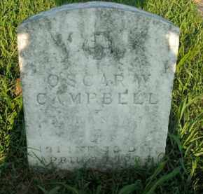 CAMPBELL  (VETERAN), OSCAR W - Boone County, Arkansas | OSCAR W CAMPBELL  (VETERAN) - Arkansas Gravestone Photos