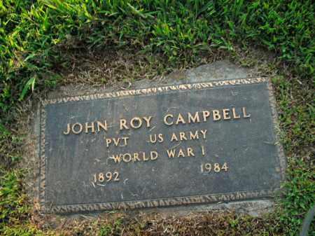 CAMPBELL  (VETERAN WWI), JOHN ROY - Boone County, Arkansas   JOHN ROY CAMPBELL  (VETERAN WWI) - Arkansas Gravestone Photos