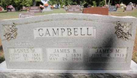 CAMPBELL, JAMES B. - Boone County, Arkansas | JAMES B. CAMPBELL - Arkansas Gravestone Photos