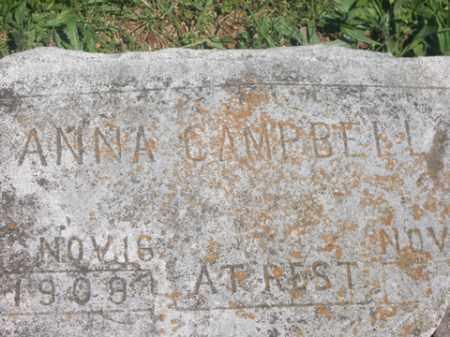 CAMPBELL, ANNA - Boone County, Arkansas   ANNA CAMPBELL - Arkansas Gravestone Photos