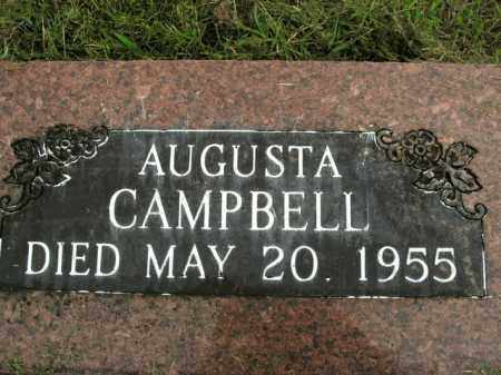 CAMPBELL, AUGUSTA - Boone County, Arkansas | AUGUSTA CAMPBELL - Arkansas Gravestone Photos