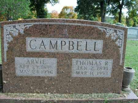 CAMPBELL, THOMAS R. - Boone County, Arkansas | THOMAS R. CAMPBELL - Arkansas Gravestone Photos