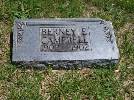 CAMPBELL, BERNEY E. - Boone County, Arkansas | BERNEY E. CAMPBELL - Arkansas Gravestone Photos