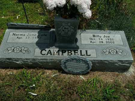 CAMPBELL, BILLY JOE - Boone County, Arkansas | BILLY JOE CAMPBELL - Arkansas Gravestone Photos
