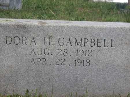 CAMPBELL, DORA H. - Boone County, Arkansas | DORA H. CAMPBELL - Arkansas Gravestone Photos