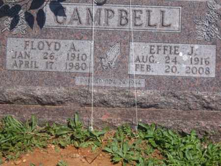 CAMPBELL, EFFIE J. - Boone County, Arkansas | EFFIE J. CAMPBELL - Arkansas Gravestone Photos