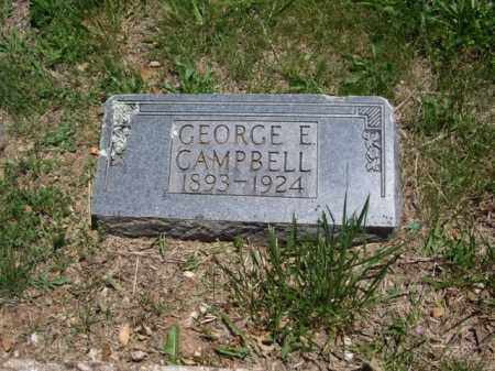 CAMPBELL, GEORGE E. - Boone County, Arkansas | GEORGE E. CAMPBELL - Arkansas Gravestone Photos