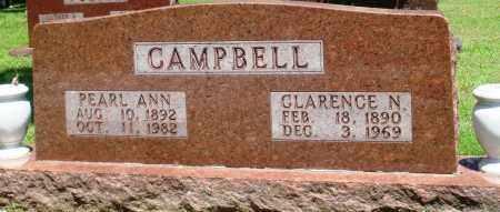 CAMPBELL, PEARL ANN - Boone County, Arkansas | PEARL ANN CAMPBELL - Arkansas Gravestone Photos