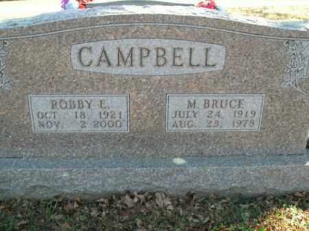 CAMPBELL, MALCOLM BRUCE - Boone County, Arkansas | MALCOLM BRUCE CAMPBELL - Arkansas Gravestone Photos