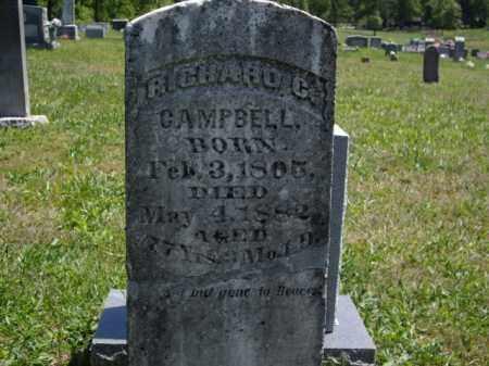 CAMPBELL, RICHARD COX - Boone County, Arkansas | RICHARD COX CAMPBELL - Arkansas Gravestone Photos