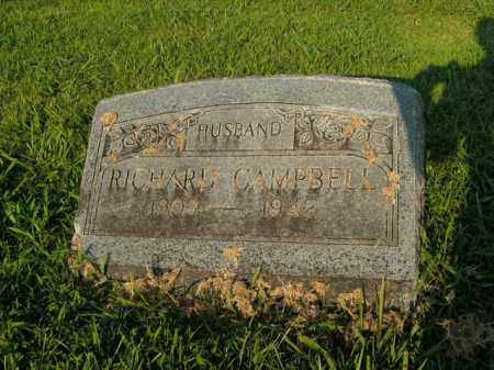 CAMPBELL, RICHARD - Boone County, Arkansas | RICHARD CAMPBELL - Arkansas Gravestone Photos