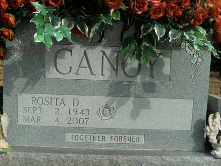 CANOY, ROSITA D. - Boone County, Arkansas   ROSITA D. CANOY - Arkansas Gravestone Photos