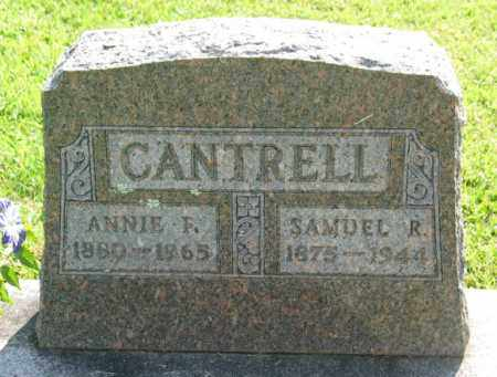 CANTRELL, SAMUEL RUFUS - Boone County, Arkansas | SAMUEL RUFUS CANTRELL - Arkansas Gravestone Photos