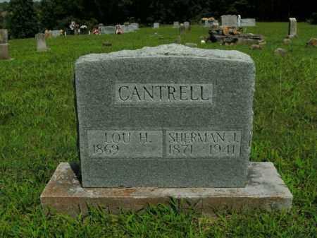 CANTRELL, LOU H. - Boone County, Arkansas | LOU H. CANTRELL - Arkansas Gravestone Photos